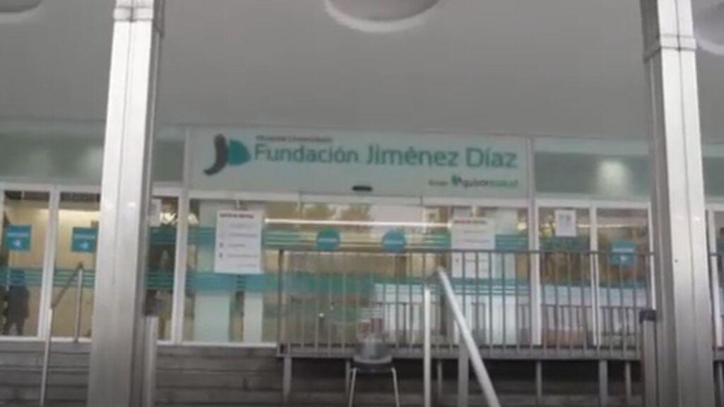 La Fundación Jiménez Díaz, la más ocupada en UCI con covid en la pandemia