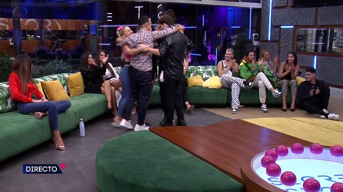 La audiencia decide que el grupo formado por Luis, Emmy, Luca, Cristina y Jesús han sido los mejores en la prueba