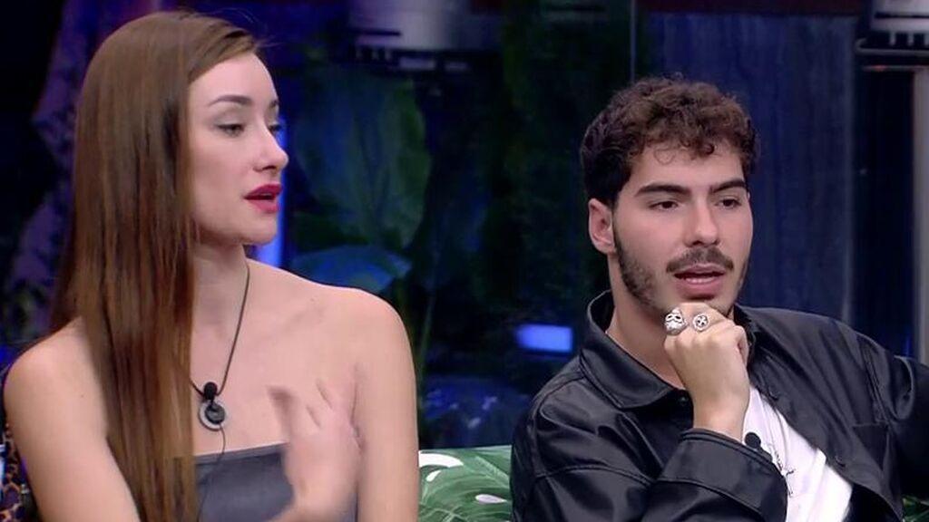 """Adara Molinero, muy decepcionada con Jesús, de 'Gemeliers' por cómo ha hablado de ella a la espalda: """"Estoy flipando"""""""