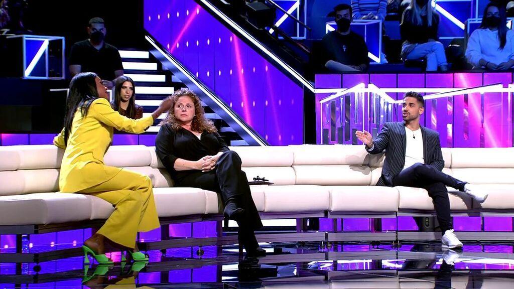 """Miguel Frigenti se enfrenta a Liz Emiliano: """"No sé qué 'Secret Story' estás viendo"""""""