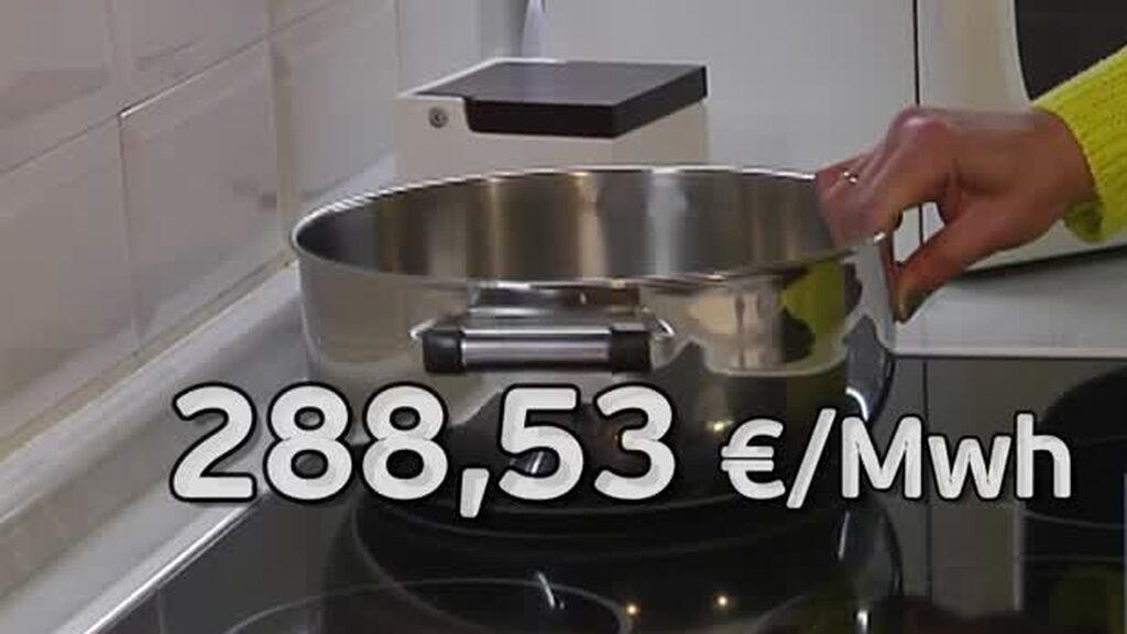 El precio de la luz bate todos los récords este jueves: 288,53 euros por megavatio