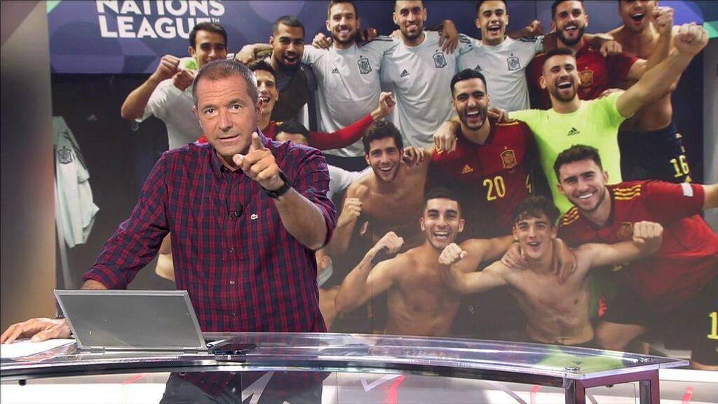 Manu Carreño, sobre el golpe en la mesa de Luis Enrique con la Selección.