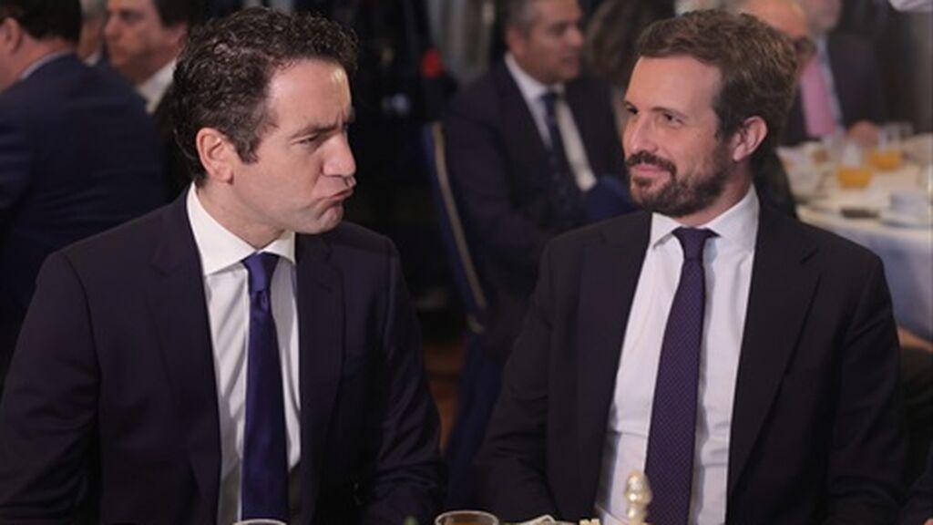 García Egea insinúa que los presupuestos son moneda de cambio para no traer a Puigdemont