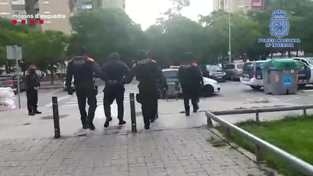 Detención de dos presuntos secuestradores en Barcelona
