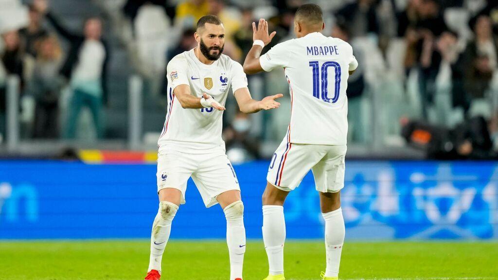 Theo mete 'in extremis' a Francia en la final de la Liga de Naciones ante España (2-3)