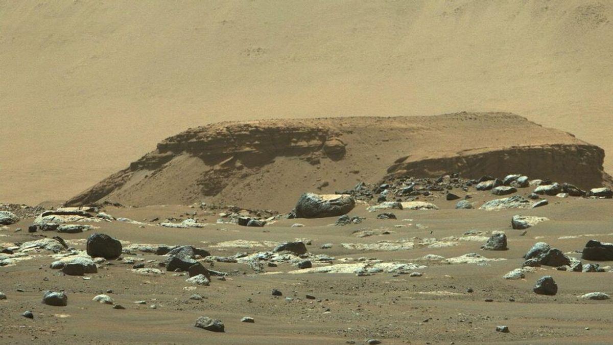 Confirmado: las últimas imágenes del Perseverance constatan que Marte albergó ríos y lagos