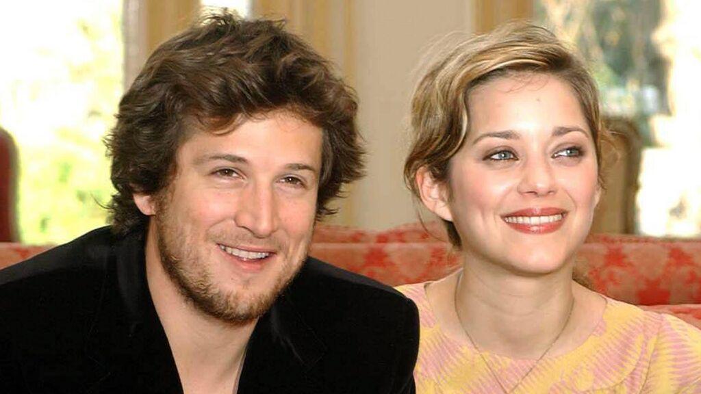 Cotillard y Guillaume Canet en 2004