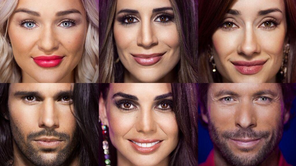 Luca, Cristina, Emmy, Adara, Canales y Cynthia, nuevos nominados de 'La casa de los secretos'