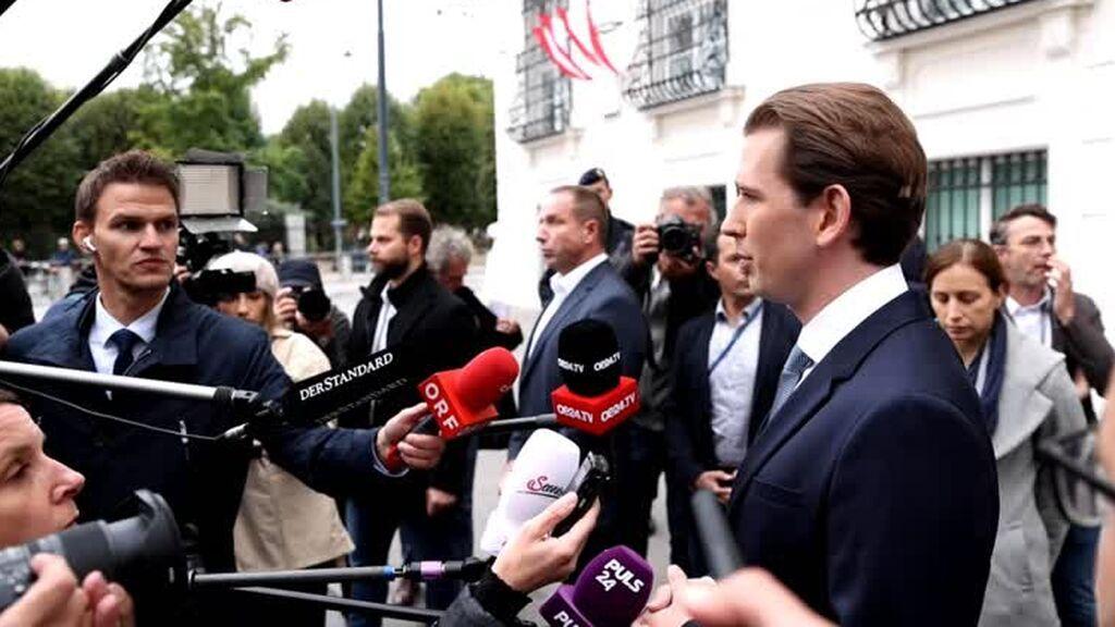 Los escándalos de corrupción hunden a Sebastian Kurz
