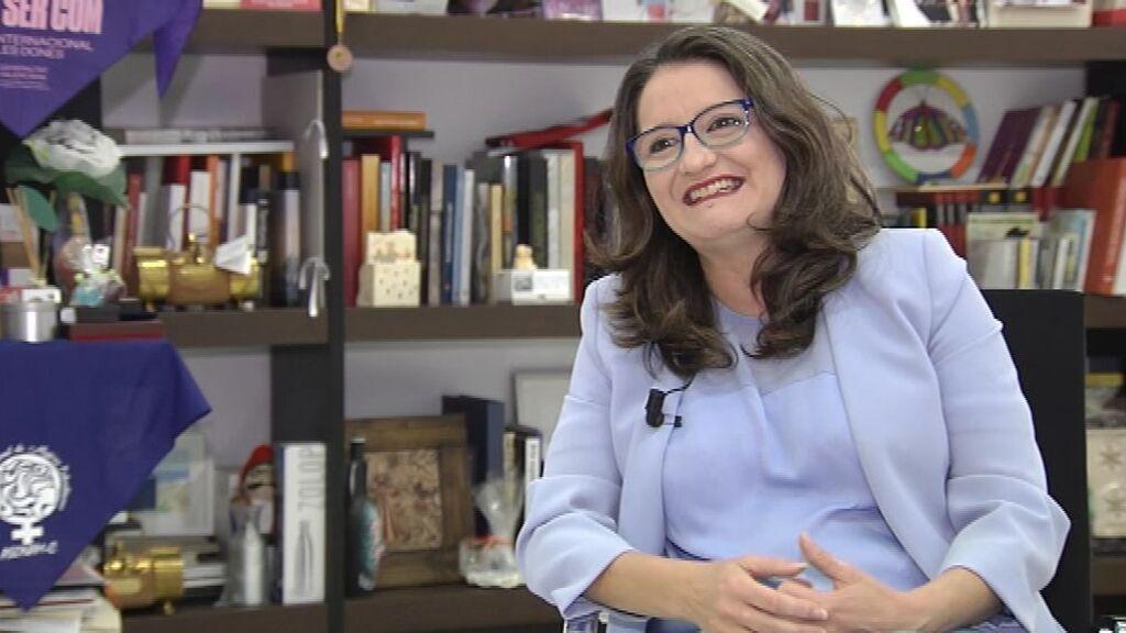 Oltra se descarta para dar el salto nacional en una plataforma con Díaz