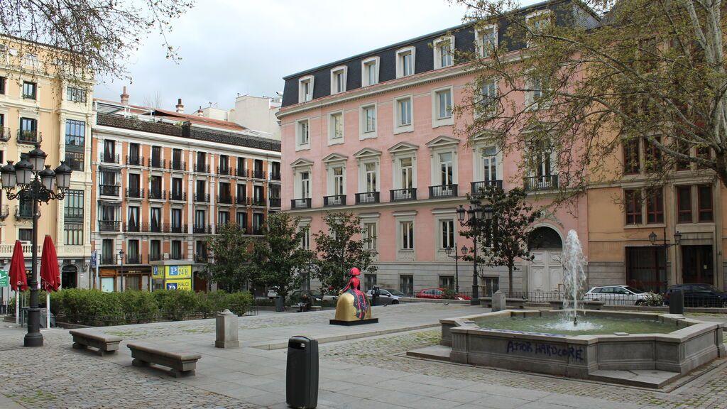 Plaza del Rey, en Madrid.