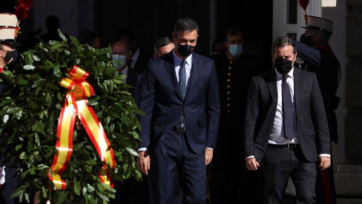 EuropaPress_3371442_presidente_gobierno_pedro_sanchez_llegada_acto_militar_celebra_plaza