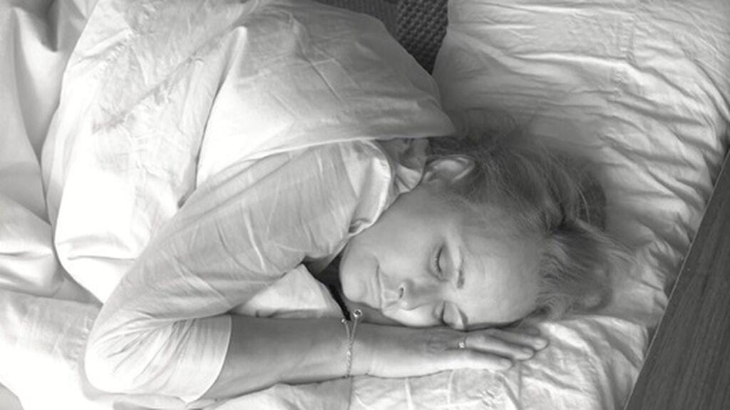 lucía durmiendo