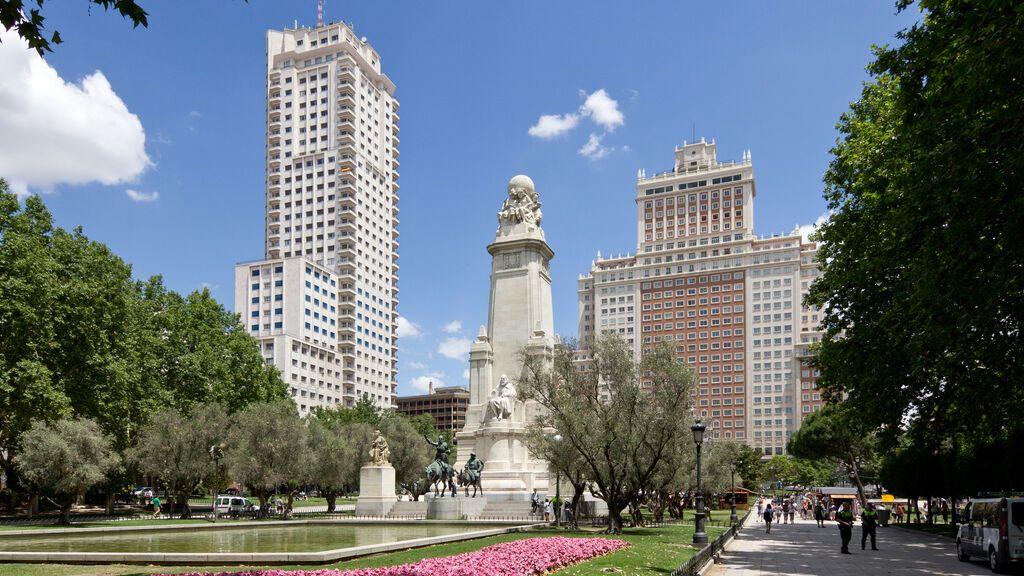 Plaza de España, en Madrid.