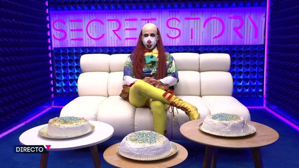 La asombrosa caracterización de Miguel Frigenti: vuelve a 'Secret Story' con la misión de dar tartazos
