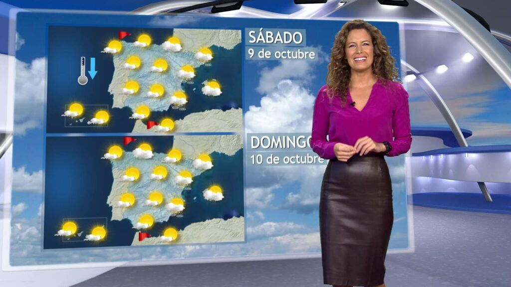Llega el puente del Pilar con nubes y claros: el tiempo para el fin de semana en España