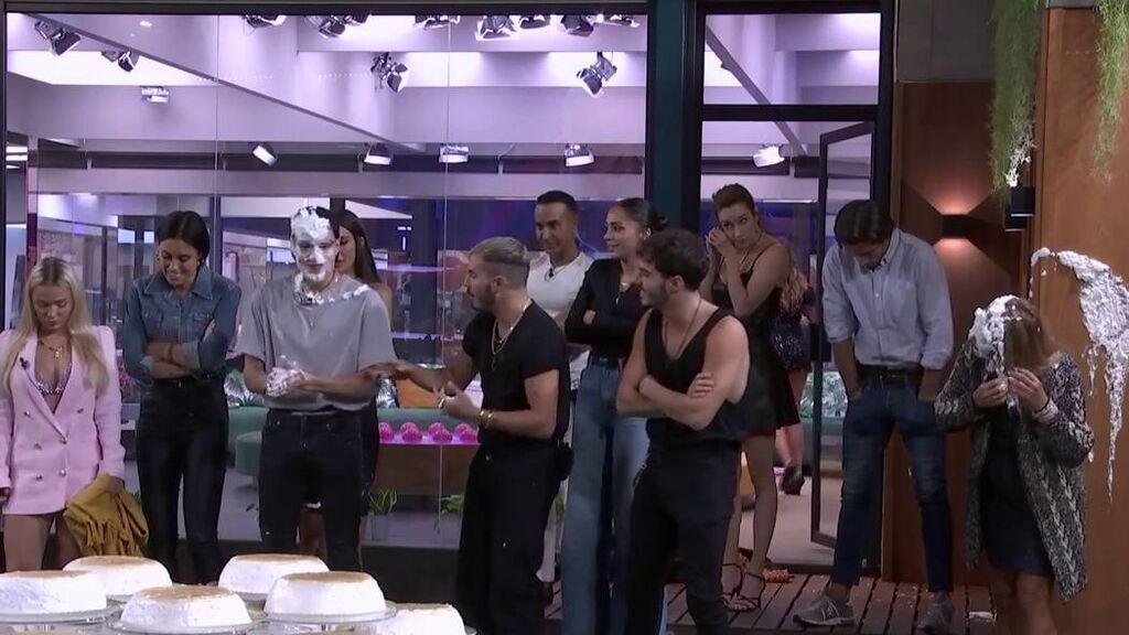 Los tartazos llegan a 'La casa de los secretos' para luchar por la inmunidad