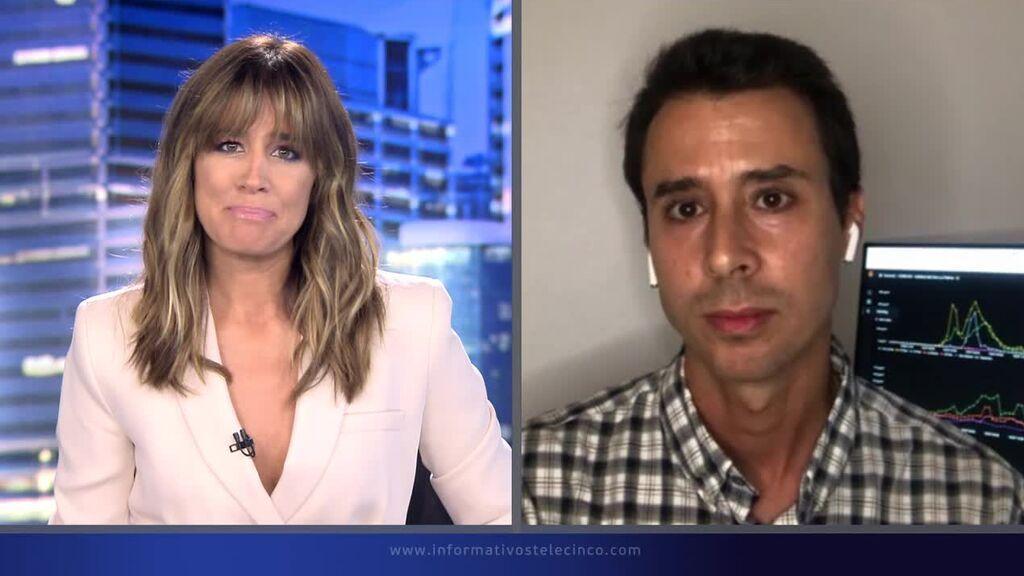 Isabel Jiménez entrevista al meteorólogo y delegado de Aemet en Cararis, David Suárez