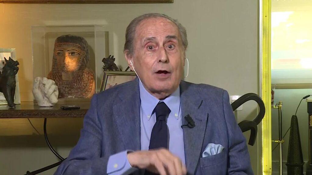 Jaime Peñafiel desvela dónde quiere mudarse Juan Carlos I si vuelve a España y de qué va a vivir