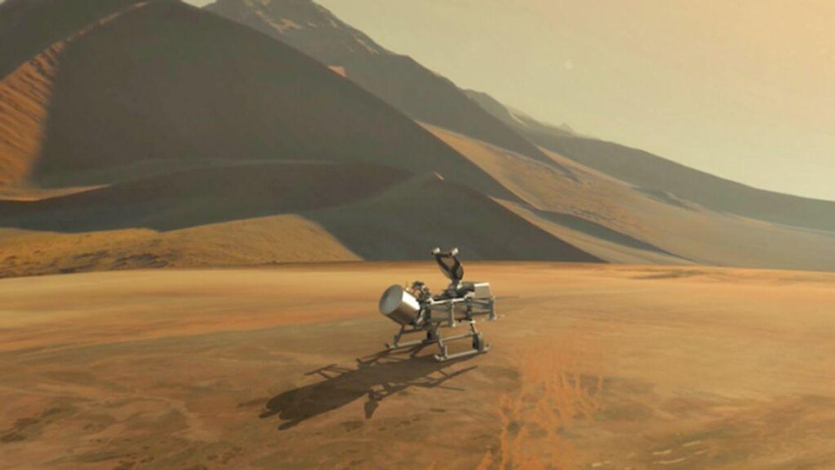 Misión Dragonfly: la NASA explorará la luna Titán de Saturno con un helicóptero