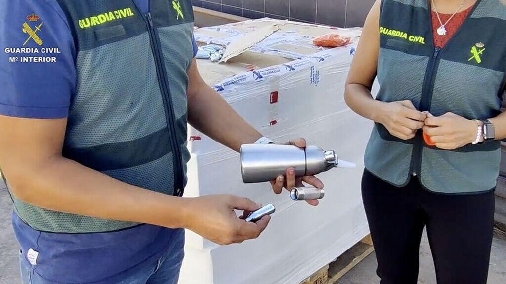 """Cae una organización dedicada a la venta y distribución del """"gas de la risa"""" en Melilla"""