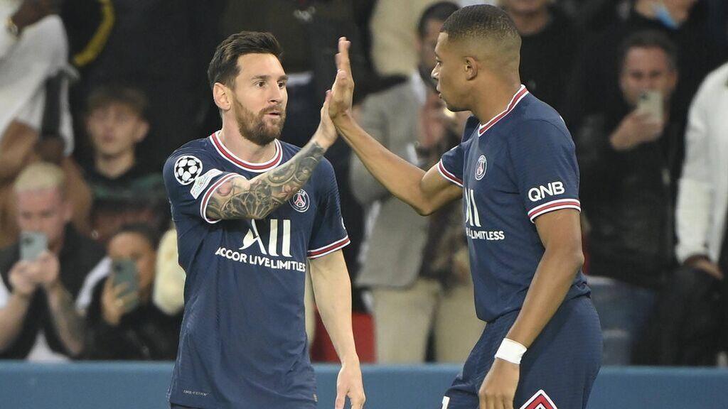 Messi, muy contento de que Mbappé se haya quedado en el PSG.