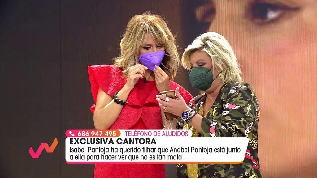 Emma García y Terelu Campos