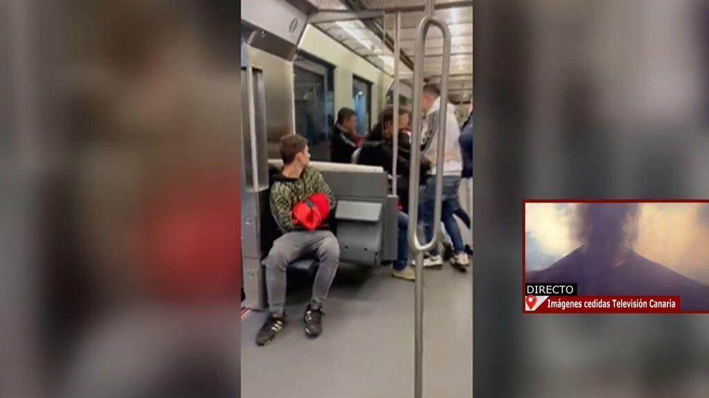 Buscan a los cinco agresores de un joven en el metro de Bilbao: le dieron puñetazos en la cara y patadas