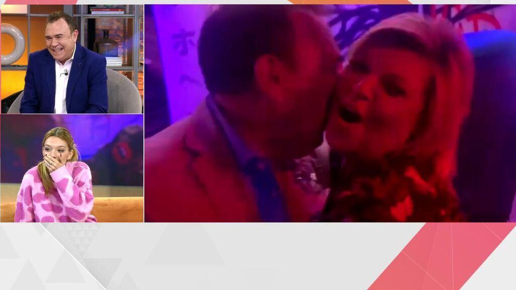El vídeo de Terelu y Galicho, de fiesta