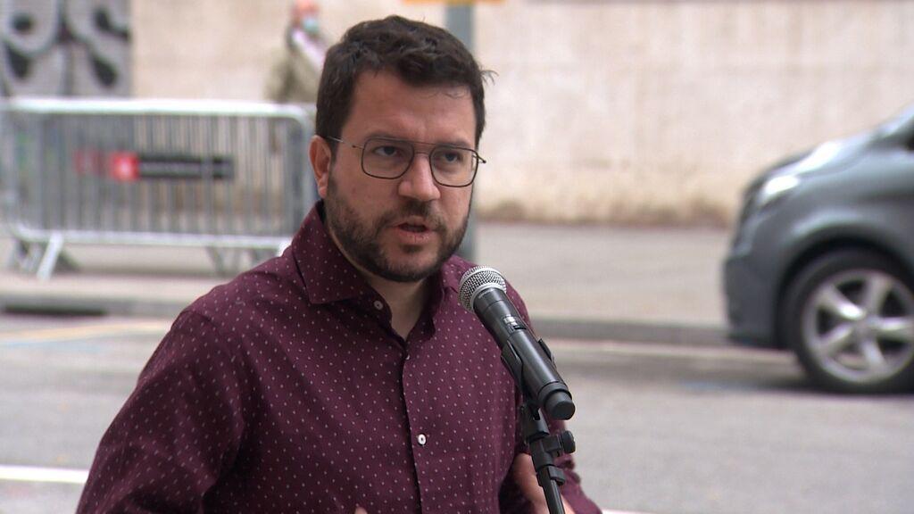 """Aragonès aclara que """"no hay ninguna nueva propuesta"""" sobre la ampliación de El Prat"""