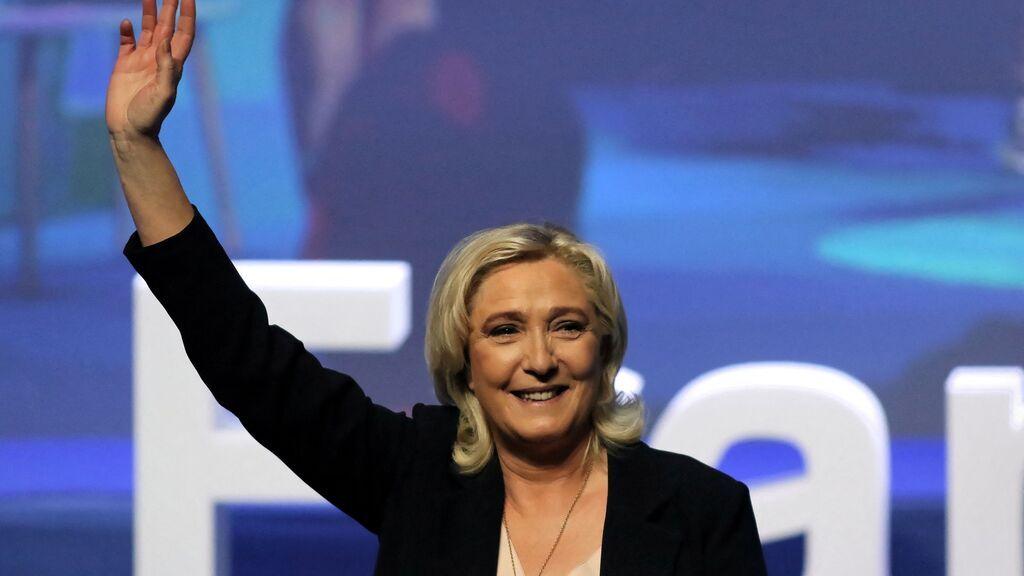 Le Pen asegura que no está preocupada por la posible candidatura de Eric Zemmour