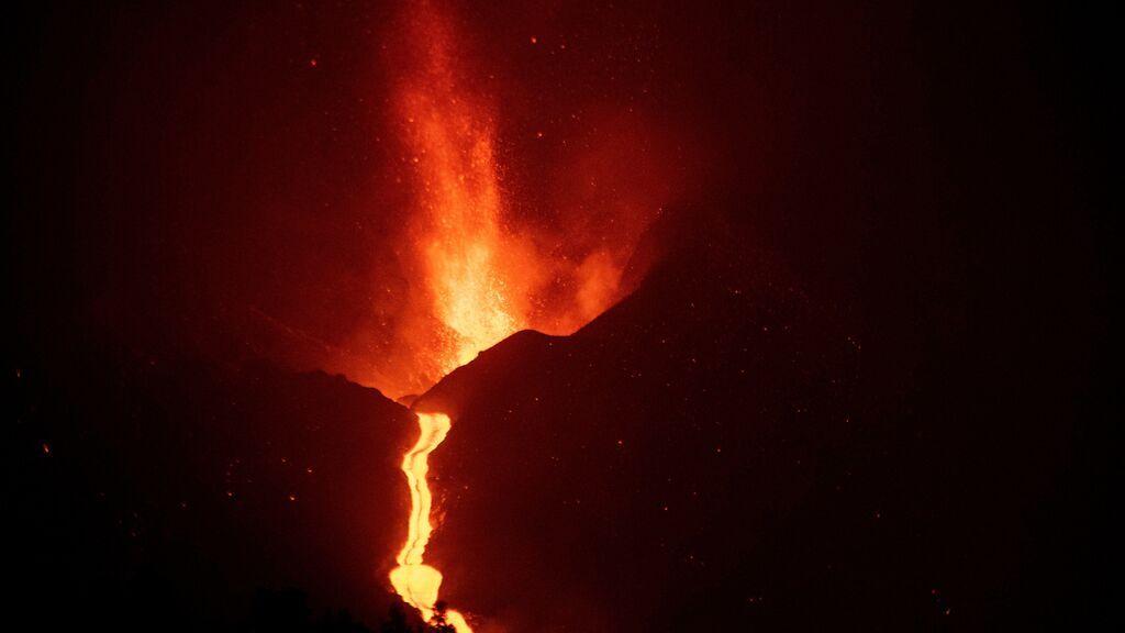 Los cálculos de emisión de lava del volcán varían entre 39,6 y 60 millones de m3 según el sistema de medición