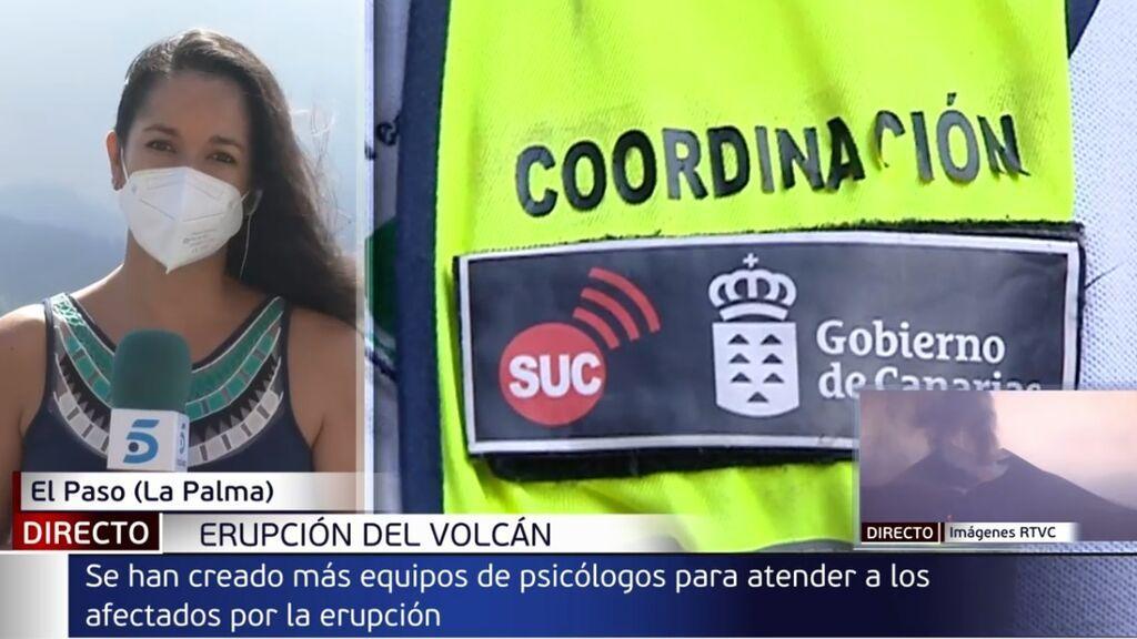 """Los psicólogos, claves en La Palma: miles de personas están """"en shock"""" por haber perdido todo"""