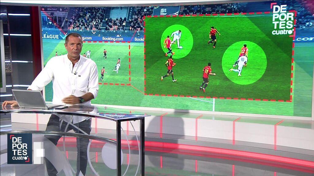 Manu Carreño, sobre el polémico gol de Mbappé a España.