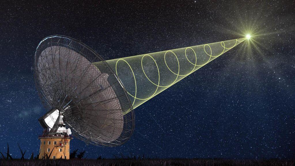 Detectan señales de radio de estrellas lejanas que sugieren la existencia de planetas ocultos