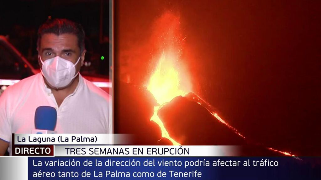 Posible cierre del espacio aéreo: un cambio en el viento podría paralizar el aeropuerto de La Palma y Tenerife Norte
