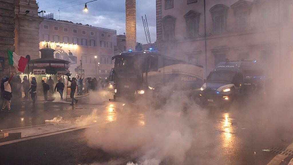 El Partido Democrático pide disolver la formación fascista italiana Forza Nuova