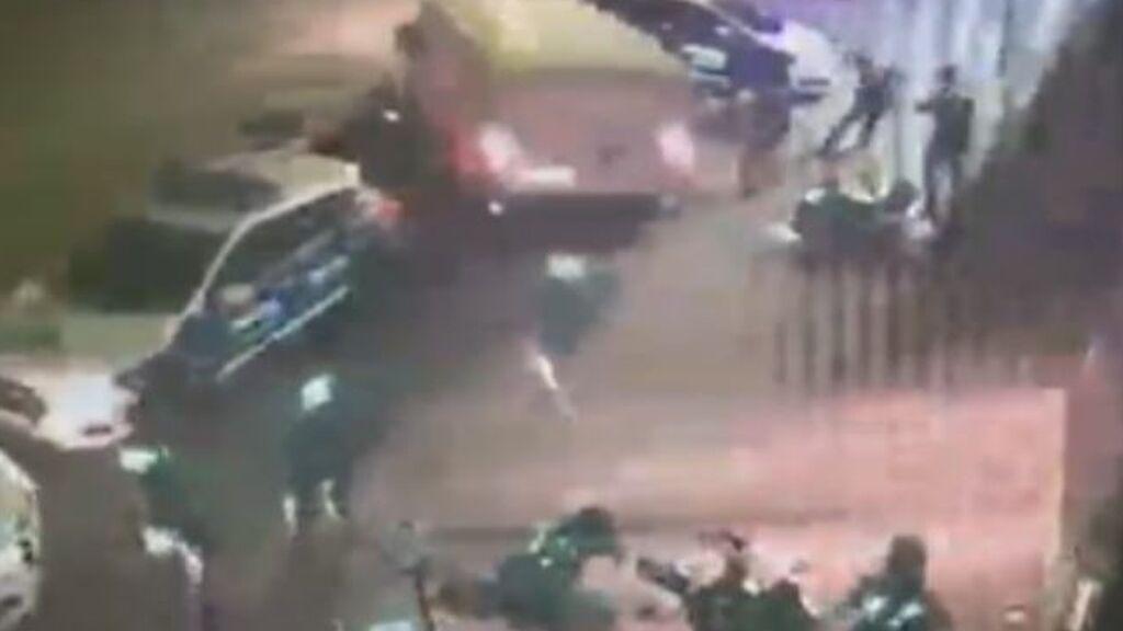 Persecución y robo de película en una empresa de tecnología en Sabadell