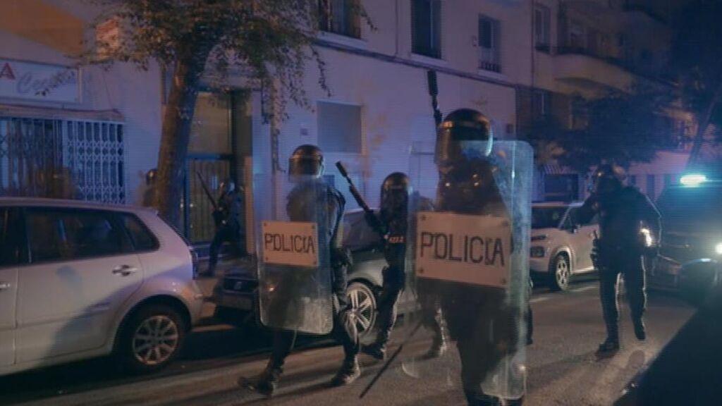 La Policía duda de la presencia de grupos delictivos en los botellones de Madrid