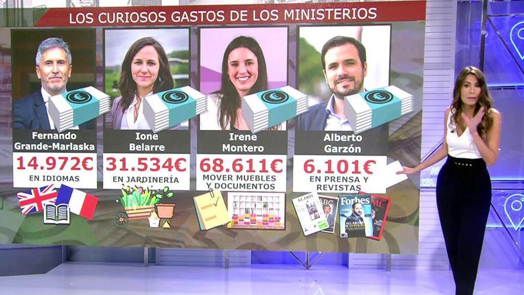 Otros gastos curiosos del Ejecutivo de Pedro Sánchez