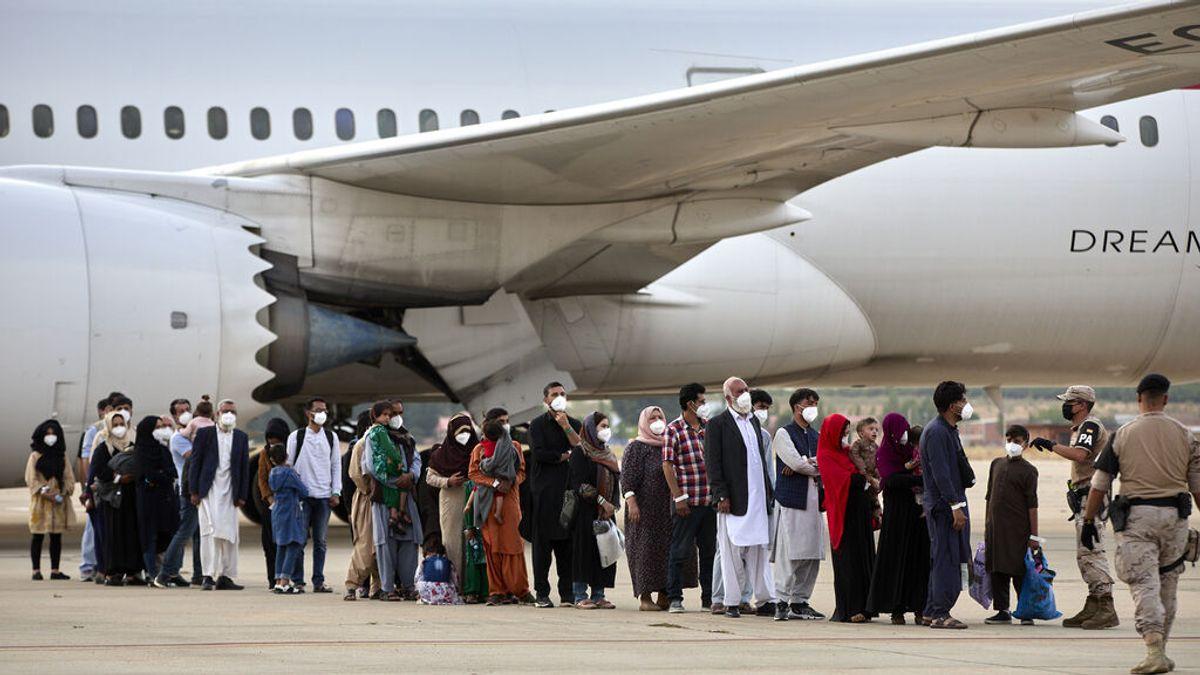 230 afganos llegarán a España este 12 de Octubre tras escapar de los talibanes