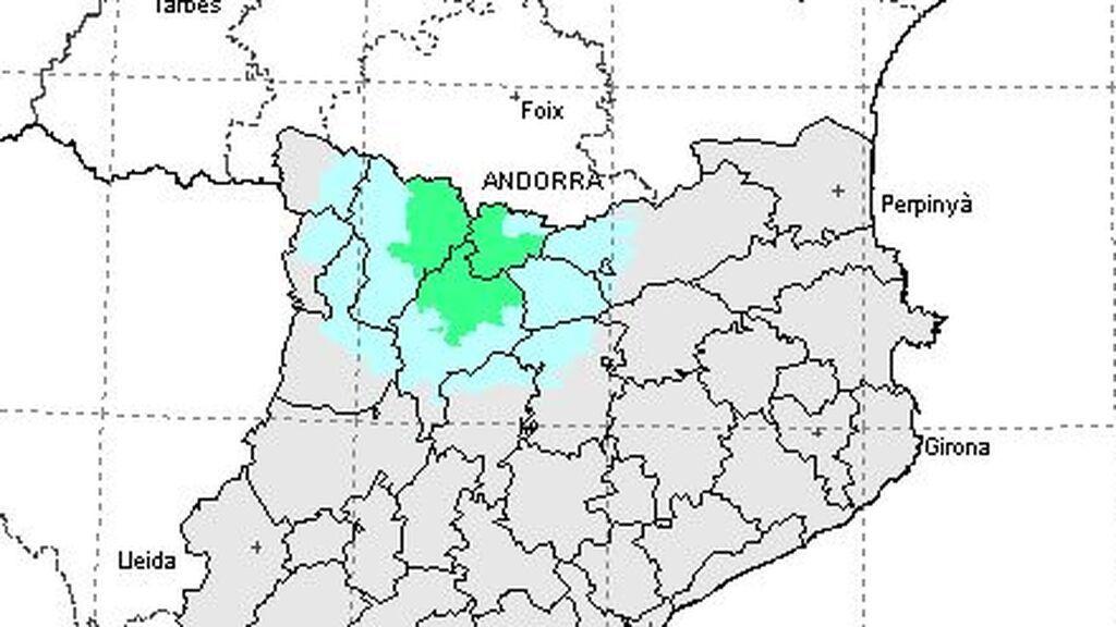Un terremoto de magnitud 3,6 sacude el Pirineo de Lérida y Andorra