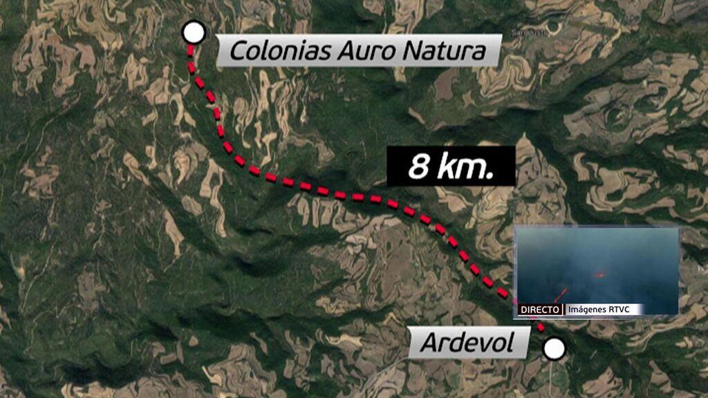 El niño de 8 años perdido en un bosque de Lleida, ha sido encontrado sano y salvo