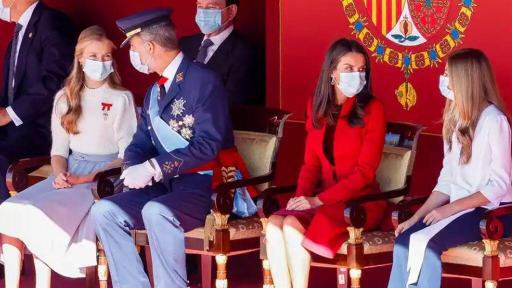 Leonor no estará en el desfile del Día de la Hispanidad: por qué falta ella y otros que no estarán