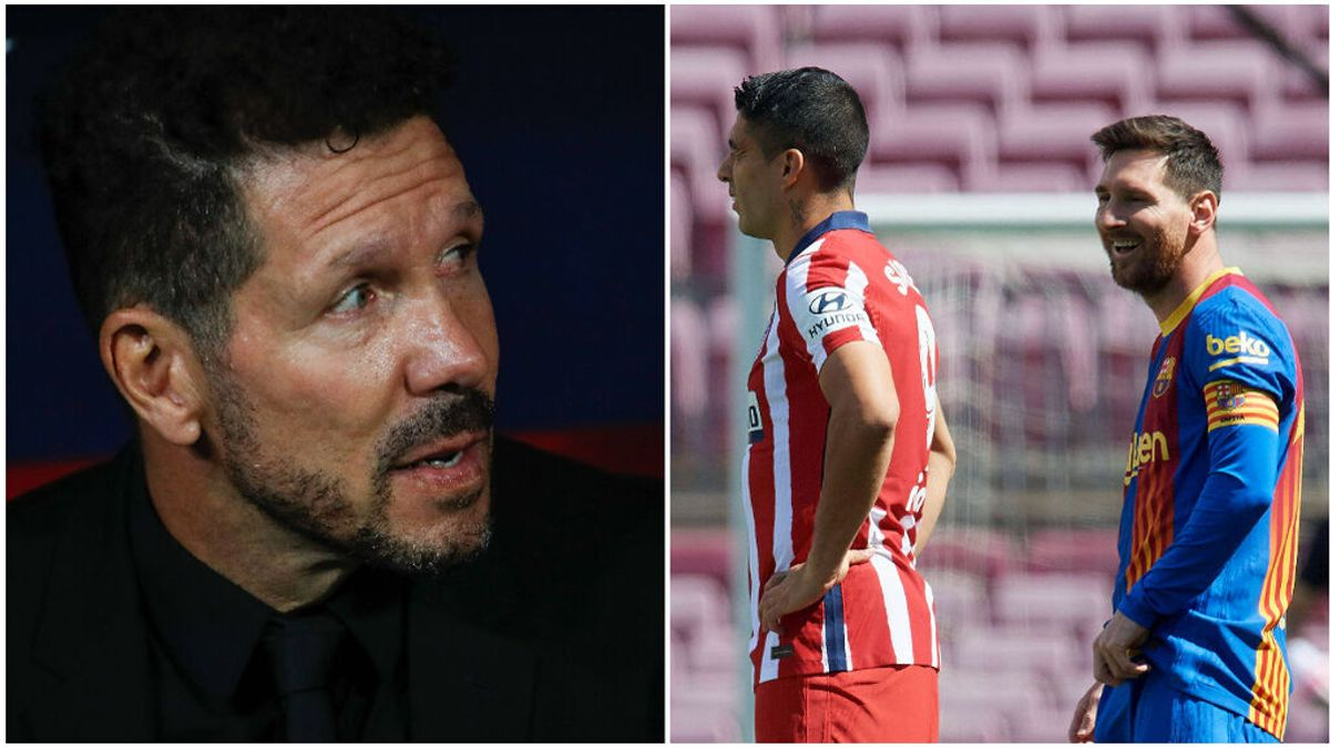 """Simeone intentó fichar a Messi con Luis Suárez como intermediario: """"Llamé para saber si había posibilidades"""""""