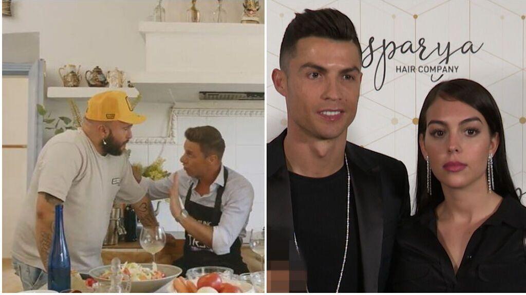 """Cristiano Ronaldo llamó a Kiko Rivera para ponerle pelo: """"Joaquín, le dije que por un millón lo hacía"""""""