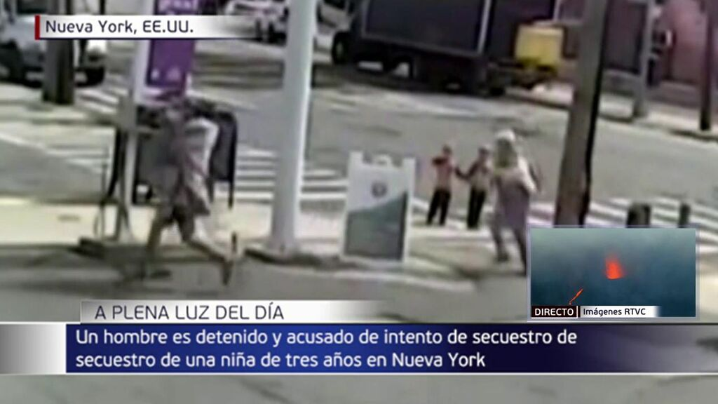 Secuestro frustrado en Nueva York