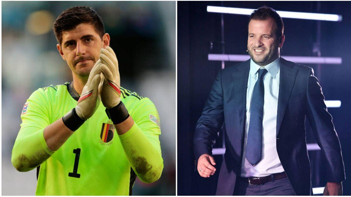 """Van der Vaart se ceba con Courtois tras criticar a la UEFA: """"Es un llorica, que devuelva la mitad de su sueldo"""""""
