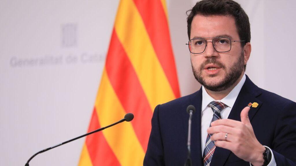 """La Generalitat catalana trabaja durante el día de la Hispanidad """"porque tiene mucho trabajo"""""""