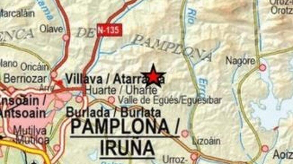 Navarra sufre un terremoto de 3,9 grados sentido en 40 localidades